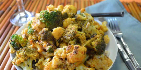 Panang Curry with Broccoli & Cauliflower recipe by Meez Kitchen