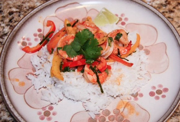 Shrimp Panang Curry recipe by Miss Delish