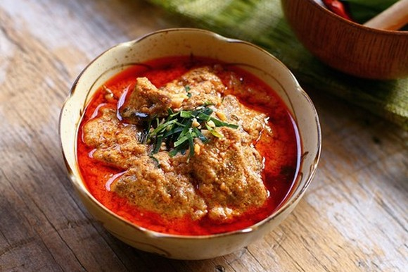 Thai Panang Curry with Beef recipe by Rasa Malaysia