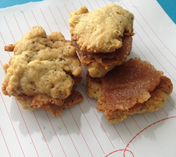 Vegan Apple Butter Cookie Sandwiches recipe photo