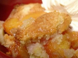 Crock Pot Peach Cobbler recipe photo
