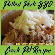 Crock Pot Pulled Pork BBQ recipe photo