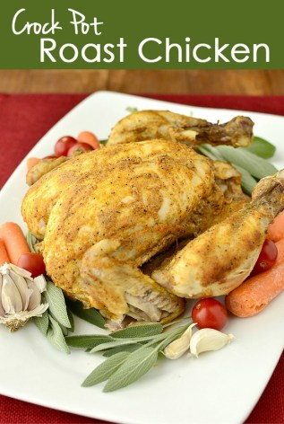 Crock Pot Roast Chicken recipe photo