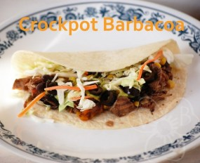 Crockpot Barbacoa recipe photo
