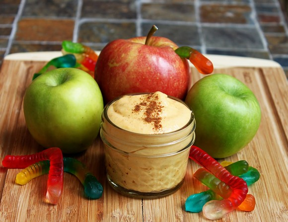 Pumpkin Apple Dip (After School Snack) recipe photo
