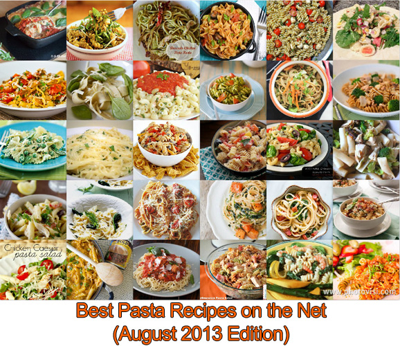 Best Pasta Recipes on the Net (August 2013 Edition)