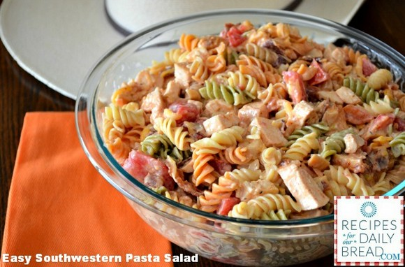 Easy Pasta Salad-Southwestern Chicken recipe photo