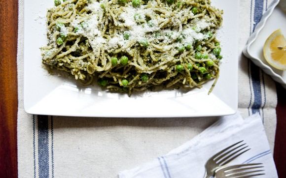 Pistachio Pesto Pasta recipe photo