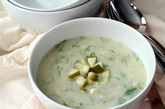 Dill Pickle Soup recipe photo