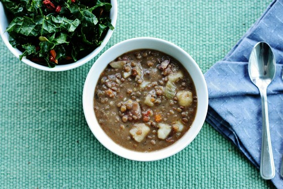 Easy Lentil Soup recipe photo