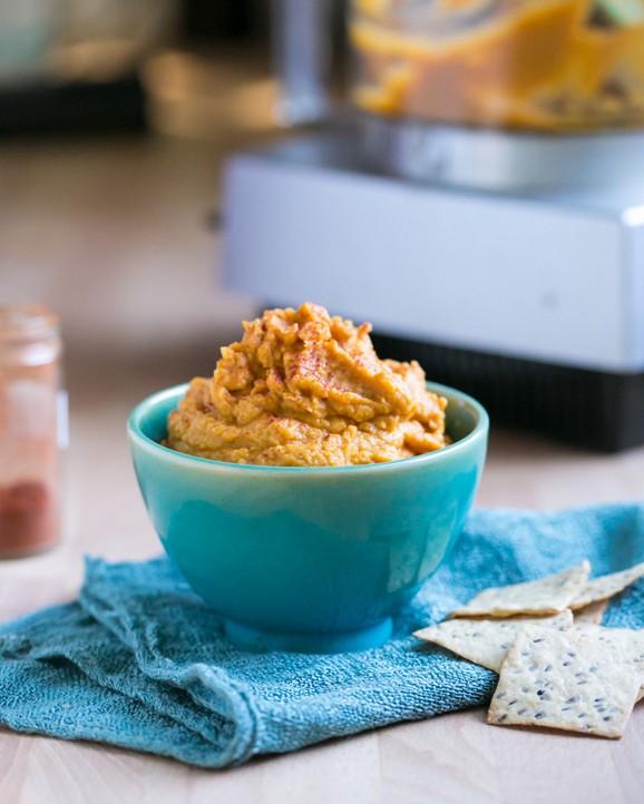 Easy Pumpkin Hummus recipe photo
