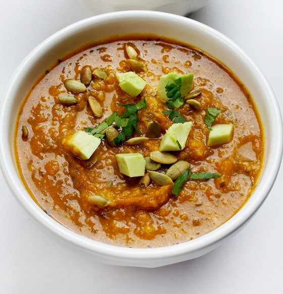 Fall Pumpkin Tortilla Soup recipe photo