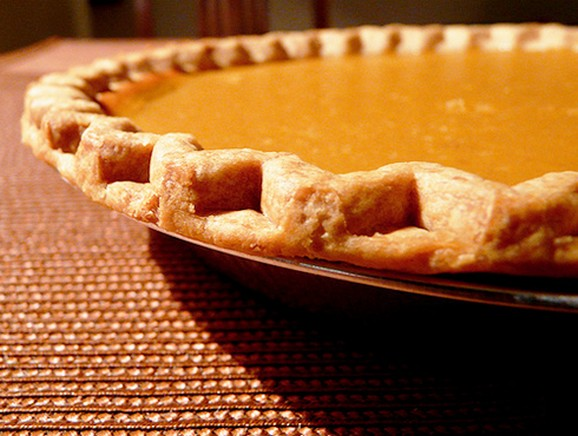 Fresh, Homemade Pumpkin Pie recipe photo