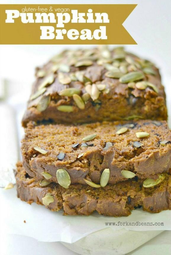 Gluten-Free & Vegan Pumpkin Bread recipe photo