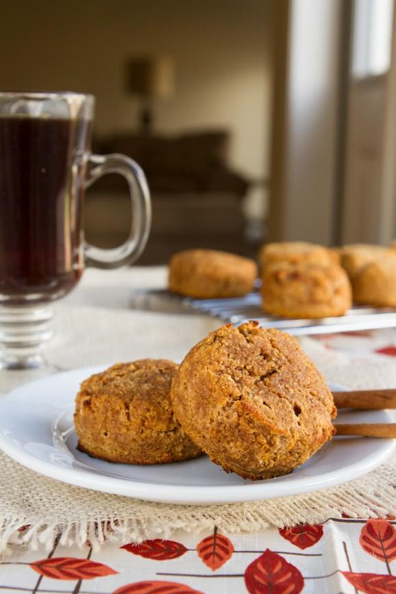 Gluten-free & Paleo Pumpkin Spice Muffin Mounds recipe photo