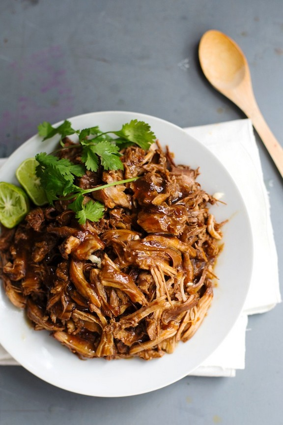 Honey Glazed Crockpot Chicken Adobo recipe photo