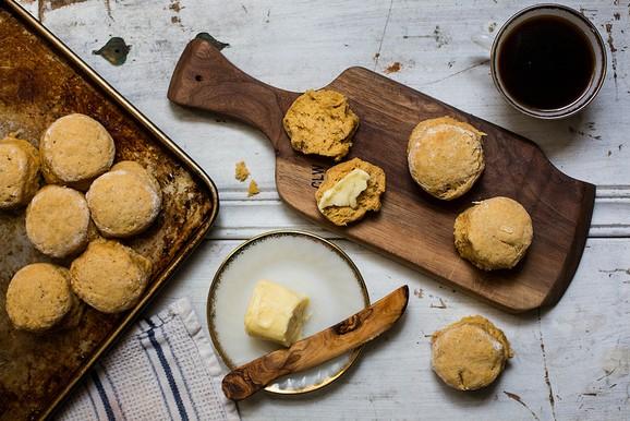 Honey Pumpkin Biscuits recipe photo