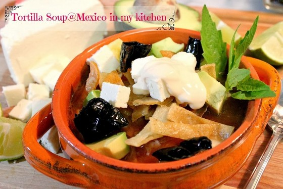Mexican Tortilla Soup recipe photo