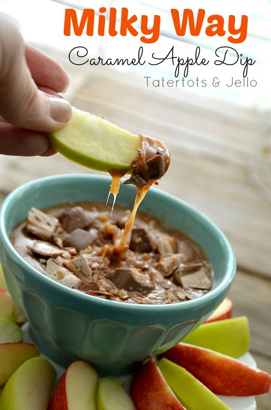 Milky Way Caramel Apple Dip recipe photo