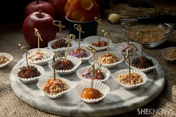 Mini-Caramel Apple Bites recipe photo