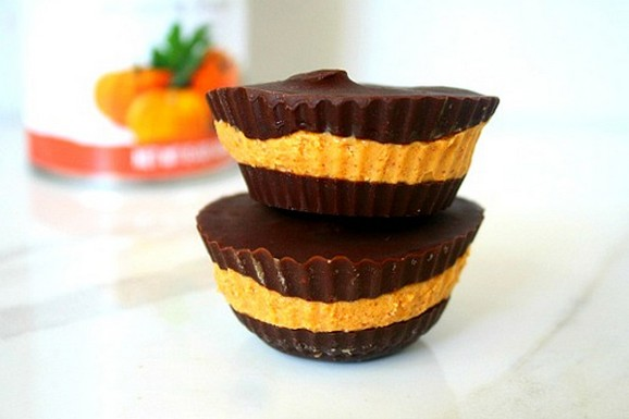 Pumpkin Nut Butter Cups recipe photo
