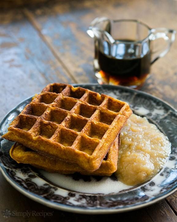 Pumpkin Waffles recipe photo