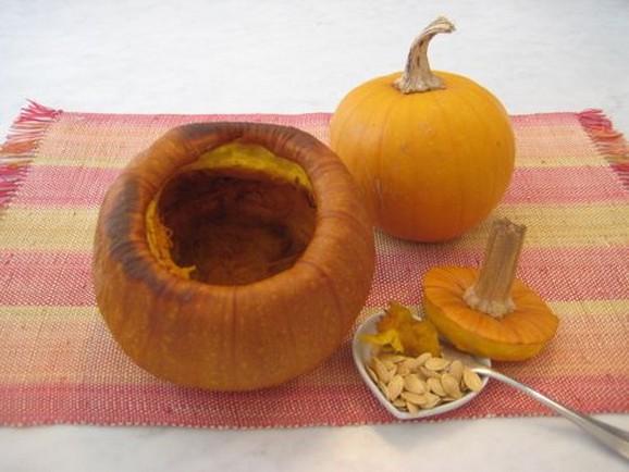 Roast Pumpkin & Toasted Pumpkin Seeds recipe photo