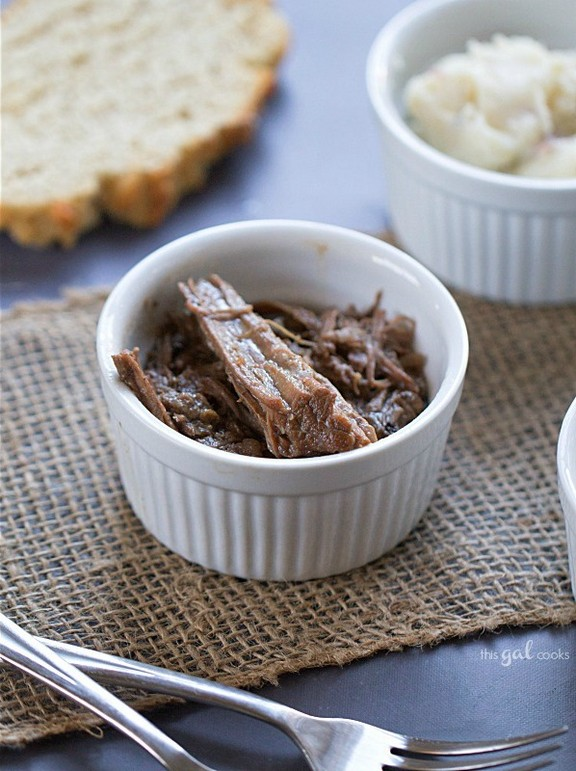 Simple Crockpot Roast Beef recipe photo