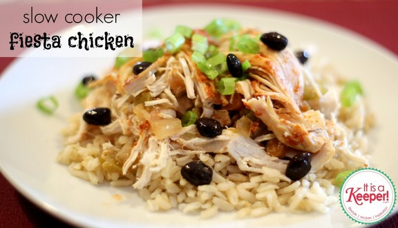 Slow Cooker Mexican Fiesta Chicken recipe photo