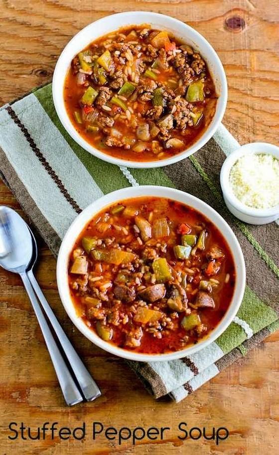 Stuffed Pepper Soup recipe photo