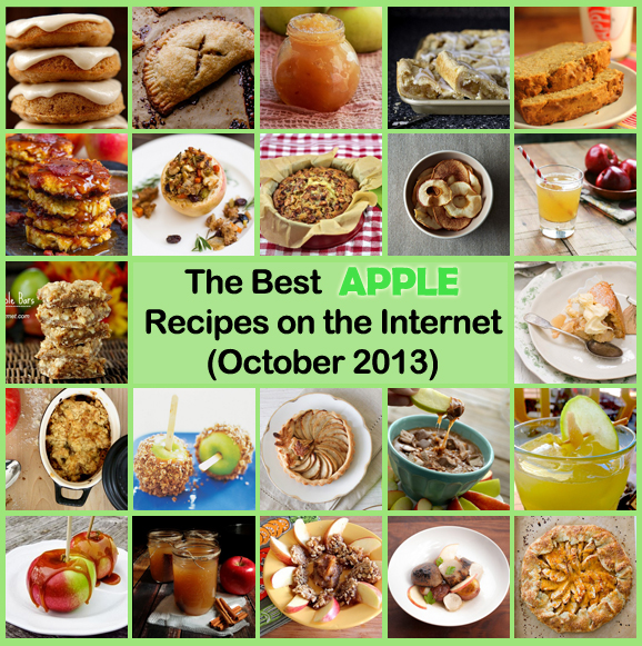 Best Apple Recipes on the Net (October 2013 Edition)