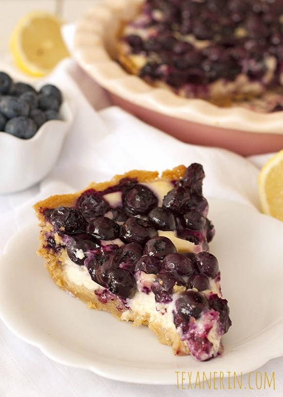 Blueberry Cream Cheese Pie recipe photo