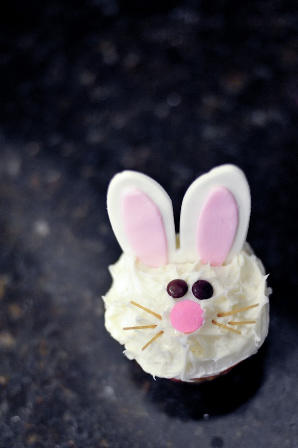 Bunny Cupcakes recipe photo
