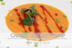 Carrot Coconut Soup recipe photo