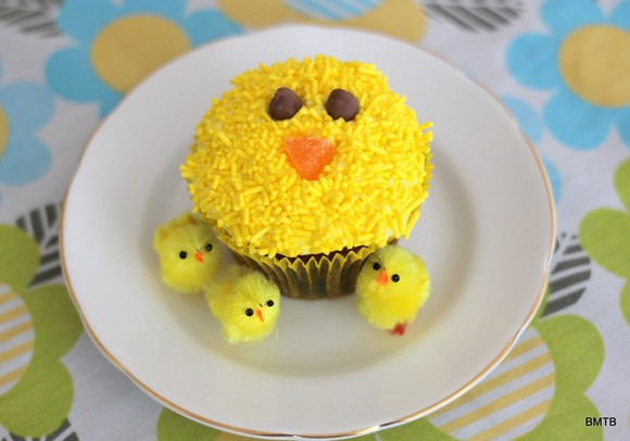 Easter Chicken Cupcakes recipe photo