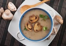 Easy No Cream Mushroom Soup recipe photo