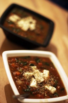 Greek Lentil Soup recipe photo