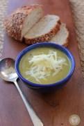 Healthy Broccoli Cheddar Soup recipe photo