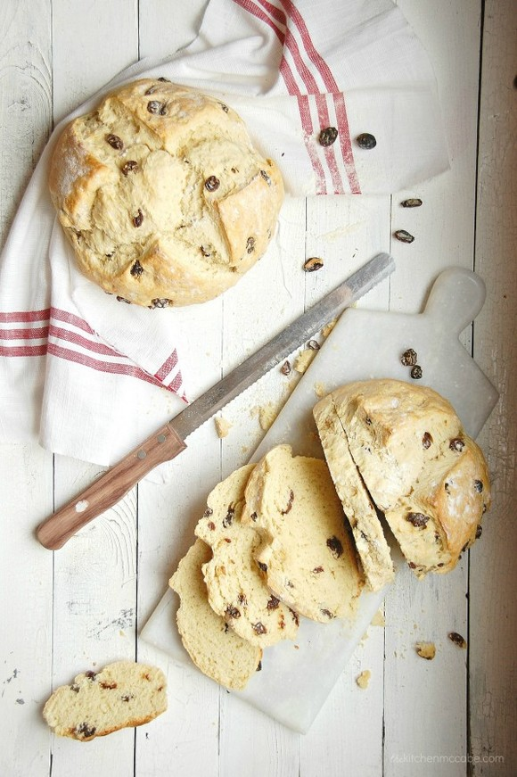 Irish Soda Bread with Raisins recipe photo