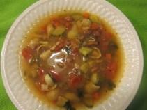 Minestrone Soup recipe photo