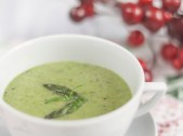 Minty Vegetable and Oats Soup recipe photo