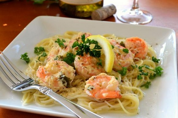 Red Lobster Shrimp Scampi recipe photo