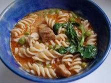 Thai Curry Noodle Soup recipe photo