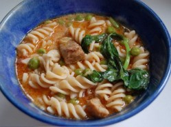 Thai Curry Noodle Soup recipe photo