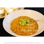 Vegan Coconut Red Lentil Curry Soup recipe photo