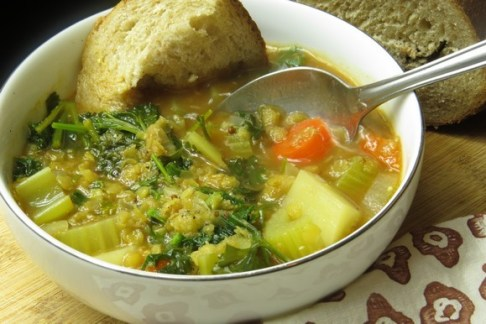 Vegan Lentil Soup recipe photo