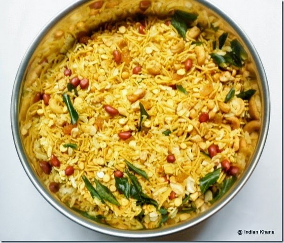 Aval (South Indian) Mixture recipe