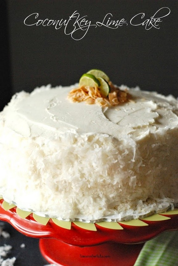 Coconut Key Lime Cake recipe