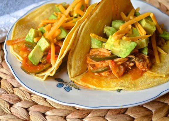 Crockpot Chicken Tacos recipe photo