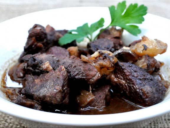 French Beef Burgundy Crock Pot recipe photo